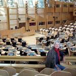 im schottischen Parlament