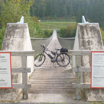 Hängebrücke bei Aich