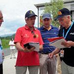 Wettkampfleitung, Amtsleiter und Platzsprecher