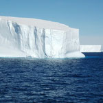 Eisberg im Antarcticsoubd