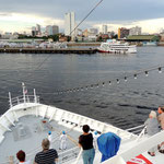 Ankunft im Hafen von Manaus
