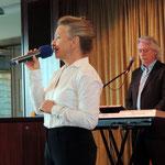 unsere Kreuzfahrtdirektorin Gabriele Engler bei der Verabschiedung