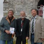 mit BGM Erich Kessler und Obmann des Vereins Bernhard Wolfsgruber
