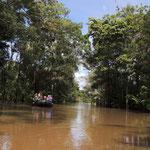 Hochwasser bei bei Furo dos Botos