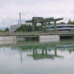 ... beim Kraftwerk Villach