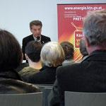 beim Vortrag Prof. Bernd Lötsch