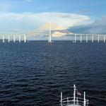 die Brücke von manaus in Sicht