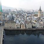 angekommen in Zürich
