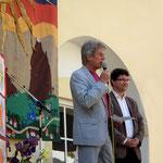 mit Ernst Sandrieser BH St. Georgen