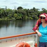 im Tres Bocas Nationalpark am Rio Negro