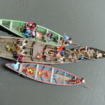 Dorfbewohner bei unserem Schiff