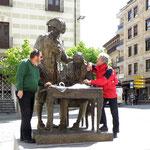mit Franz in Salamanca