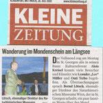 28.7. Kleine Zeitung