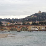 Verona die alte Römerbrücke