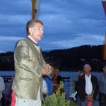 Bernd Lötsch mit Wissenswertem über den Mond