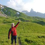 Aufstieg zur Kempnerhütte