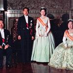 美智子妃殿下との挙式 昭和天皇・皇后と撮影