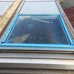 1×0.9mの天窓 12枚 施工 製品材料巾 1m×2m