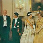 日米通商100周年 訪米 アイゼンハワー大統領ご夫妻と両殿下