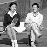 軽井沢のテニスコートの恋