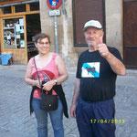 Barca mit Frau (Spanien)