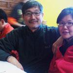 Andrea mit Frau (Südkorea)