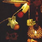 Postal Fotográfica by Martuka. Llums de Nadal - Mercat de Vic. 3€
