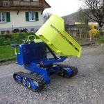 Rufener Raupenkipper mit Drehmulde und Verstellfahrwerk 700kg Nutzlast