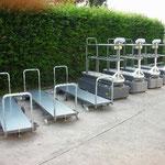 Erntewagen für Gewächshauseinsatz