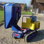 Canycom Raupenkipper Gebrauchtmaschine in Top Zustand verkauft!