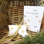 """Set (Box u. Karte) """"Liebe Weihnachtsgrüße""""   -   (c) Atelier Anne Sänger"""