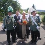 Die noch amtierenden Majestäten sowie Ehrengäste