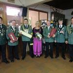 Gruppenbild der Ehrengäste