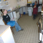 Silke Stein - die Stütze der Küche