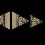 Triangles en chaîne
