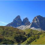 und wieder die Dolomiten