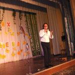 Андрей Егоров на форуме учителей Выборгского района Ленинградской области