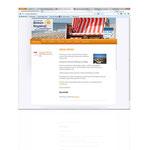 Website www.borkum-strandnah.de