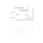 """Visitenkarten """"HANOVIS AG"""""""