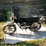 Yamaha RD 50 M (Mitten im Aufbau)...