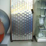 Für einen direkt durchströmten Solarkollektor wurden Kupferrohre direkt auf Aluminiumblech geschweißt.