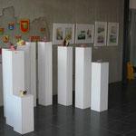 Ausstellung zur 20-Jahr-Feier im Rathaus