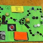 Brettspiele, selbsterfunden