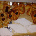 Unsere Glücksschweinchen, Blätterteigteddys m. Käse und Marshmallows