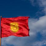 Kirgisische Flagge