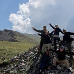 Jakob, Hetty, Roy, Nicky mit Guides