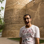 unser Tourguide in Shiraz, Zavosh