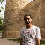 unser Tourguide in Shiraz, Zavosh