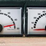 bei 45° kann die Fahrt weiter gehen..
