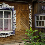 Wunderschöne sibirische Verzierungen